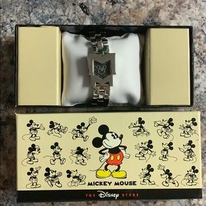 Mickey Mouse Stainless Steel Watch